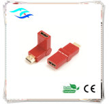 La vente en gros de type Swing RoHS Cheap, HDMI vers HDMI femelle adaptateur mâle (FEF-HX-002R)
