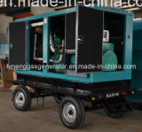 générateur mobile silencieux de la remorque 100kVA
