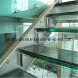 6.38mm 12.38mm Tempered Safety Building Laminated Glass