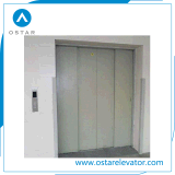 La Chine de la fabrication de 4 panneaux de porte de voiture de l'élévateur de fret de levage utilisés