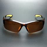 PC Brown-Objektiv-Sicherheits-Schutzbrillen (SG131) Anti-Löschen