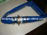 PVC tuyau plat avec Pinlug Couplage