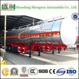 De regelbare Aanhangwagen van de Tanker van de Brandstof van Compartimenten met het Lichaam van de Tank van het Koolstofstaal van 5mm