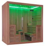 Nuova stanza di sauna del LED del cedro del riscaldatore di legno chiaro di lusso di Harvia (M-6044)