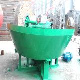Minério de ouro em pequena escala fábrica usam Pan Moagem húmida Mill