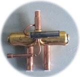 Operação de válvula do competidor de 3 maneiras