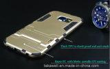 中国のSamsung S6の端の携帯電話カバーケースのための卸し売り携帯電話アクセサリOEMの鉄の人の装甲箱