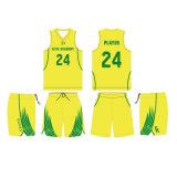Изготовленный на заказ тенниска баскетбола с печатание сублимации