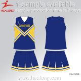 Diseño fresco traje de porrista Cheerleading personalizada uniformes para niñas