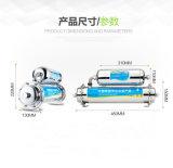 Purificador Cloro-Livre dobro da água de Undersink do aço inoxidável do estágio 304 com carbono e F combinado