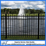 Jardín Exterior de aluminio valla valla valla valla metálica resistente valla metálica