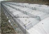 Не тканого Geotextile используется на оказании помощи мятежникам проволочной сеткой