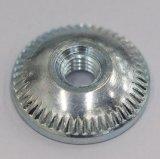 Tourner les pièces de haute précision, laiton/aluminium/matériaux en acier inoxydable