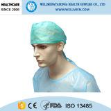 Nichtgewebter Gleichheit-zurück chirurgischer Wegwerfhut