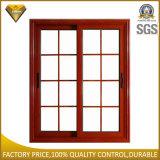 Aluminiumlegierung-Doppelt-schiebendes Glasfenster mit Blendenverschluss-Innere (JBD-S6)
