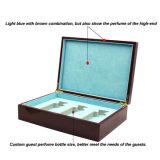 Nova caixa de armazenamento de perfume de madeira PU de design novo