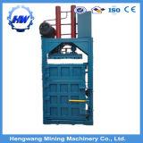 Pequeña máquina hidráulica vertical de embalaje para cartón