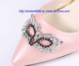 Décoration de chaussure de Rhinestone de type de Fox pour la chaussure de femmes
