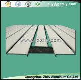 Windundurchlässige und feuerfeste Streifen-Metalldecke des Aluminium-85u-Shaped