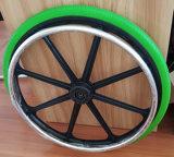 인플레 휠체어 (22X 1 3/8)를 위한 자유로운 폴리우레탄 거품 바퀴