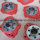 Caja de engranajes de acero modificada para requisitos particulares del bastidor de arena con trabajar a máquina del CNC