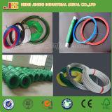 Bwg PVC recubierto de alambre / PVC recubierto de alambre de hierro / PVC recubierto de cable de encuadernación