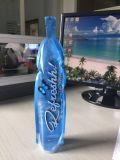 La coutume a estampé le sac comique de forme de bouteille pour la boisson liquide de jus de l'eau
