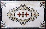 Modèle de marbre naturel Waterjet Custom Design Marble Waterjet Floor
