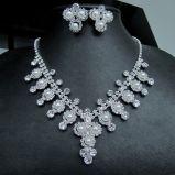 真珠の結婚式の一定のネックレスおよびイヤリングの方法宝石類