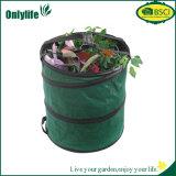 Onlylife Grün knallen oben faltbarer Garten-Beutel-zusammenklappbaren Wasser-beständigen Vorratsbehälter