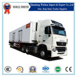 China Tri-Axle Frigorífico semi reboque / Congelar Carreta