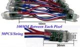 Módulo energy-saving do pixel do diodo emissor de luz de DC12V IP68 para anunciar