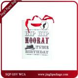 Brithday Einkaufen-Geschenk-Papiertüten-sackt glattes Laminierung-Geschenk Einkaufen-Beutel ein