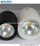 supporto aperto nero/bianco LED Downlight di 15W di Dimmble