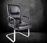 2015 chaise noire squelettique de vente chaude du noir deux avec le char de cuir de roues (SZ-OC133)