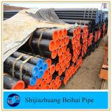 A106 Grb laminadas a quente de aço carbono dos tubos de aço sem costura