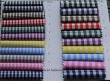 Gravata poli da tela de mistura do algodão que derruba a tela