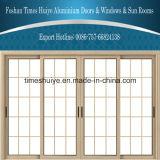 Fabrik-Preis-gute Qualitätsdoppelte Schicht-Glasaluminiumschiebetür für Mall