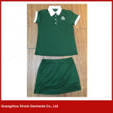 Soem-moderne Form-volles Drucken-T-Shirt für Dame (P159)