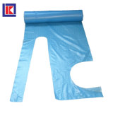 롤에 빨간 관례 LDPE/HDPE 처분할 수 있는 플라스틱 PE 앞치마