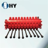 ZFSの油圧流量調節弁の土台の安全弁のねずみ鋳鉄
