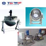 Bouilloire de jupe de /Steam de cuiseur électrique d'acier inoxydable avec la conformité de la CE