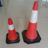 Esteira da borracha da base do cone do tráfego da alta qualidade