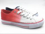 Vulkanisierte Aqua-Farben-Frauen-gehende Schuhe mit Segeltuch-Oberleder (ET-YH160159W)