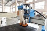 切り分け、切断のための2つの軸線CNCのルーターを作る合板の堅い木製の家具