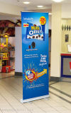 Personalizzato stampato il vostro vario disegno di marchio schioccare in su la bandiera per il supermercato