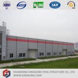 Estructura de acero de la luz de prefabricados Sinoacme Taller con el edificio de oficinas