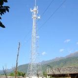 Tour en acier galvanisée de radar de télécommunication de cornière