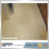 Preiswerter beige Kalkstein 10 Gebrauch-Kalkstein-Fliesen für Innendekoration