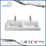 陶磁器のキャビネットの洗面器および虚栄心の上手の洗浄の流し(ACB2181)